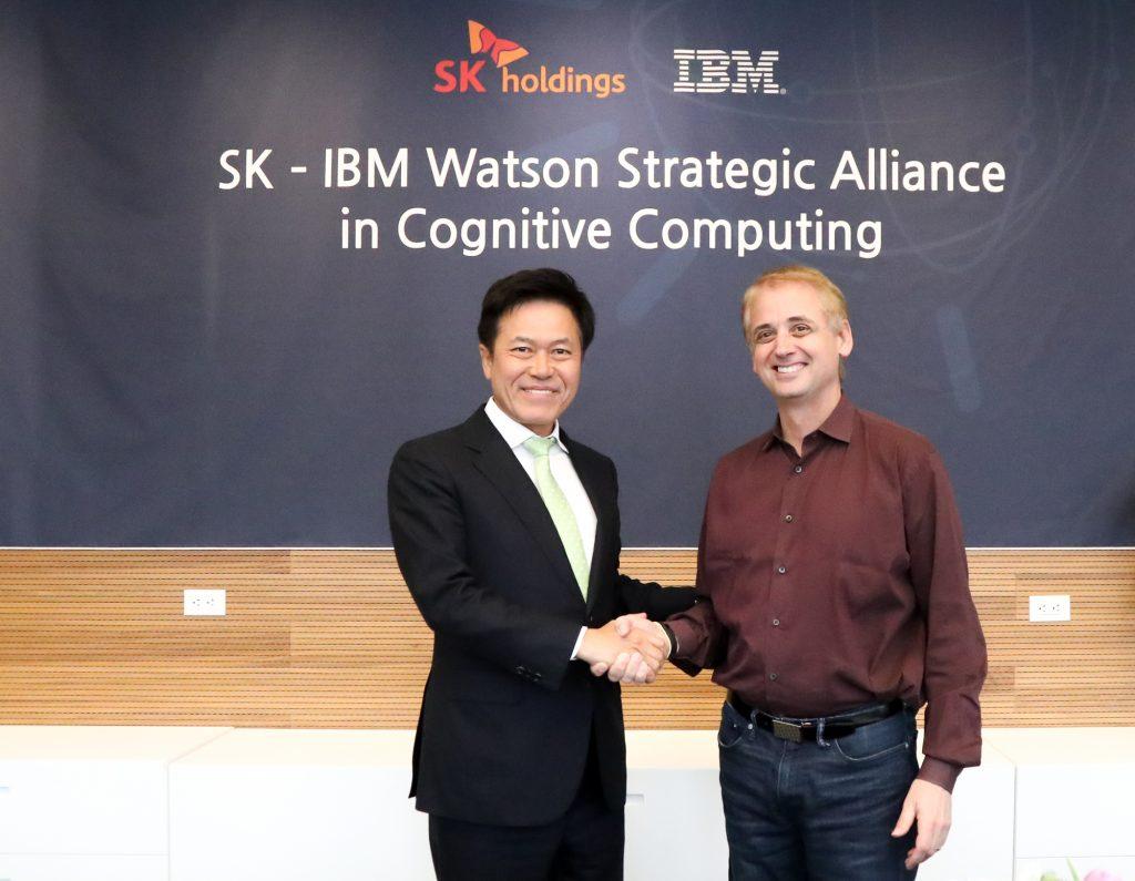 SK(주) C&C와 IBM, 왓슨(Watson)기반 인공지능(AI) 사업 협력 계약 체결