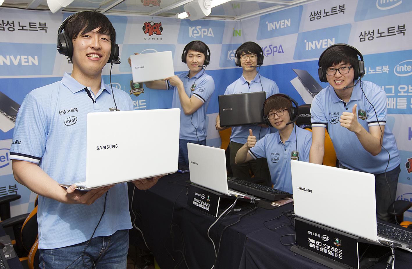 삼성 노트북, 2년 연속 e스포츠 게임 대회용 노트북 선정