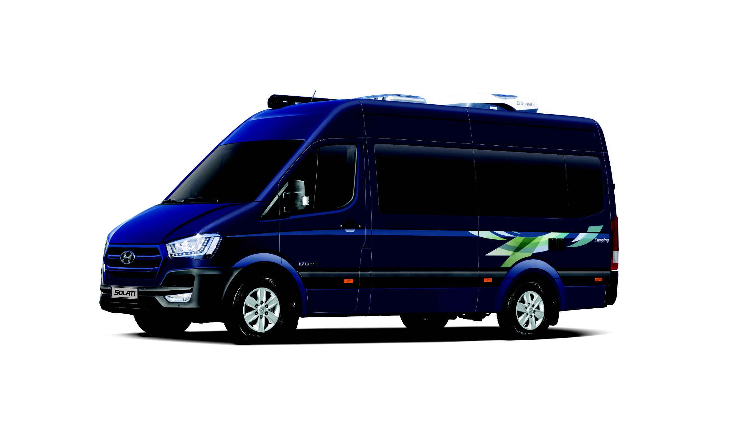 현대차, 쏠라티 캠핑카 출시