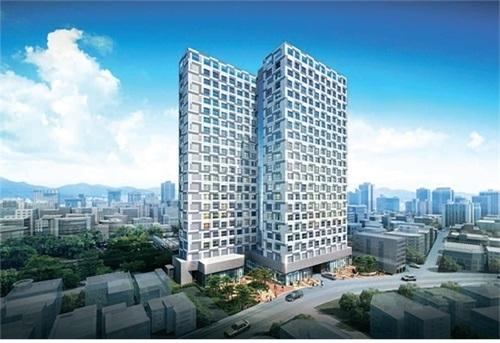 충무로 엘크루 메트로시티 2차, 총 380세대 1층 독점 단지내 상가·오피스텔 잔여분 분양