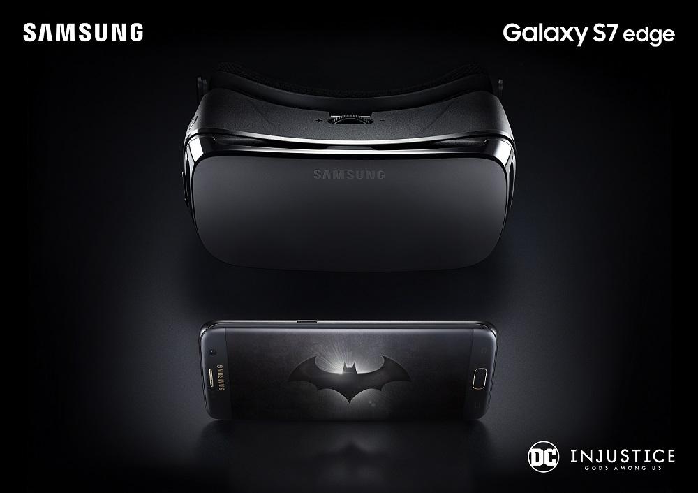삼성전자, '갤럭시 S7 엣지 인저스티스(Injustice) 에디션' 공개
