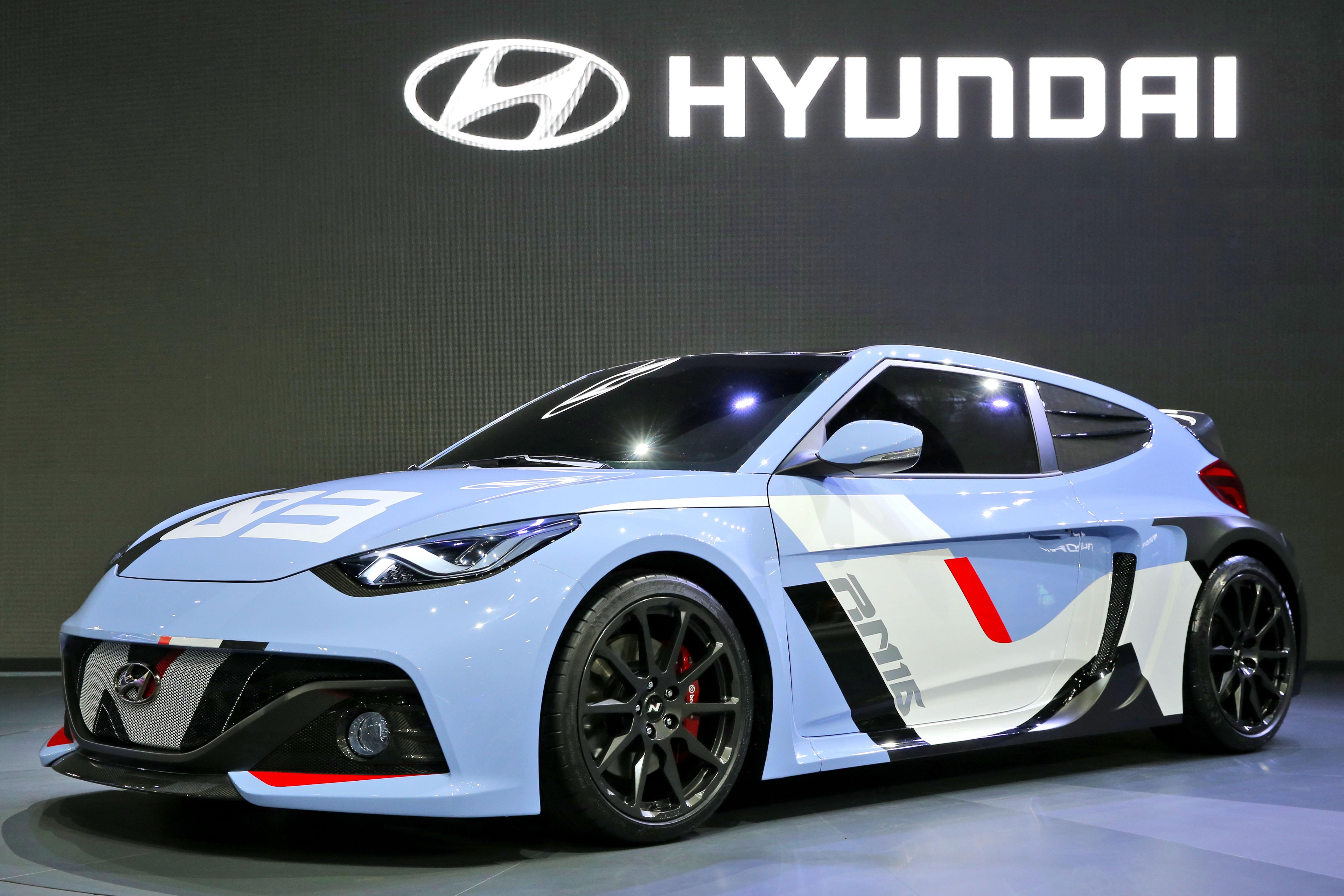 현대자동차, 콘셉트카 'RM16' 최초 공개