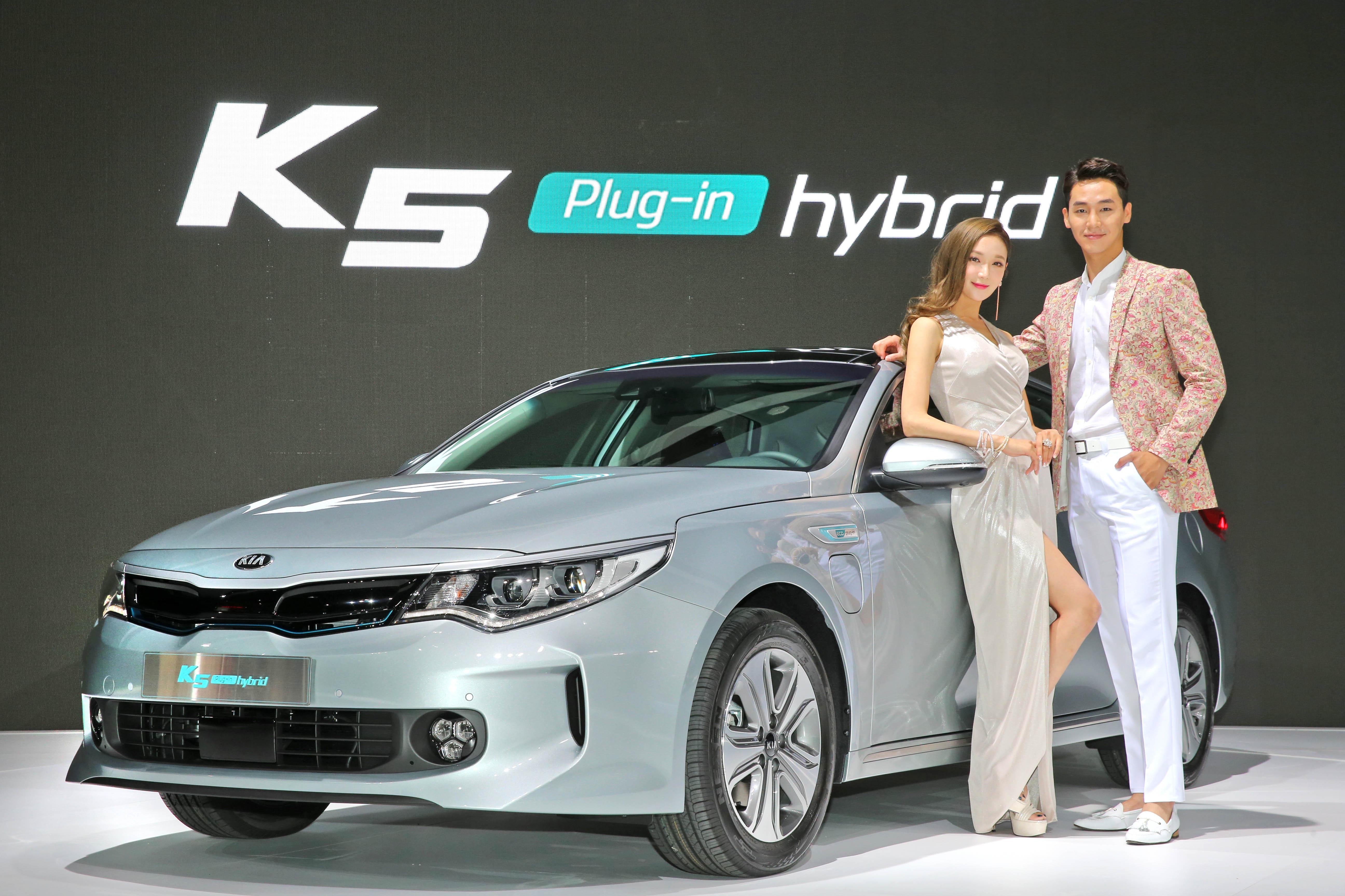 기아차, 2016 부산 국제모터쇼 참가…'K5 PHEV' 국내 첫 선