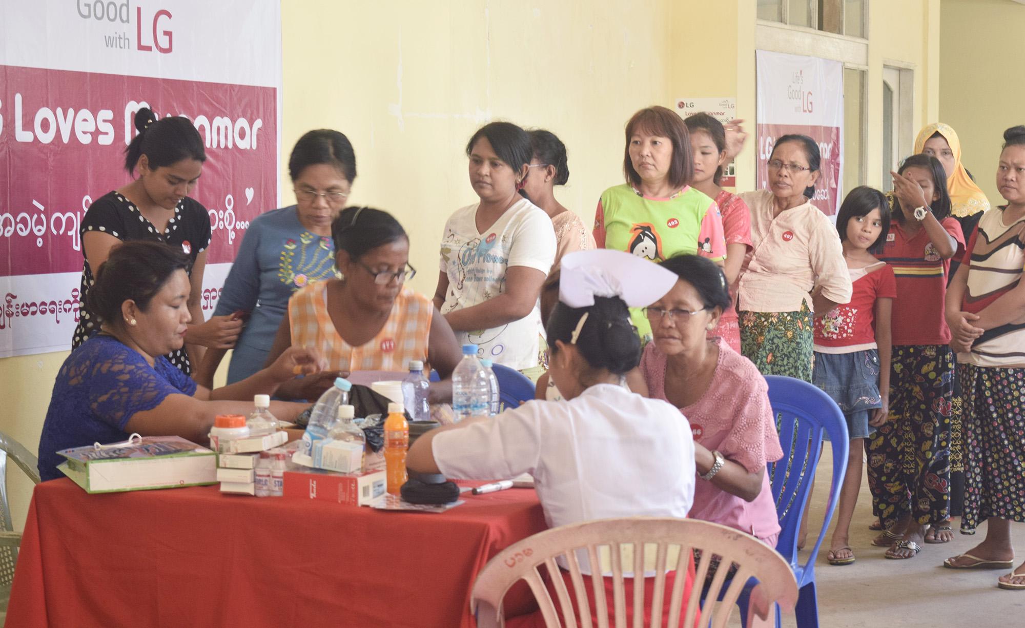 LG전자, 동남아시아 의료시설 낙후지역 순회 무료검진
