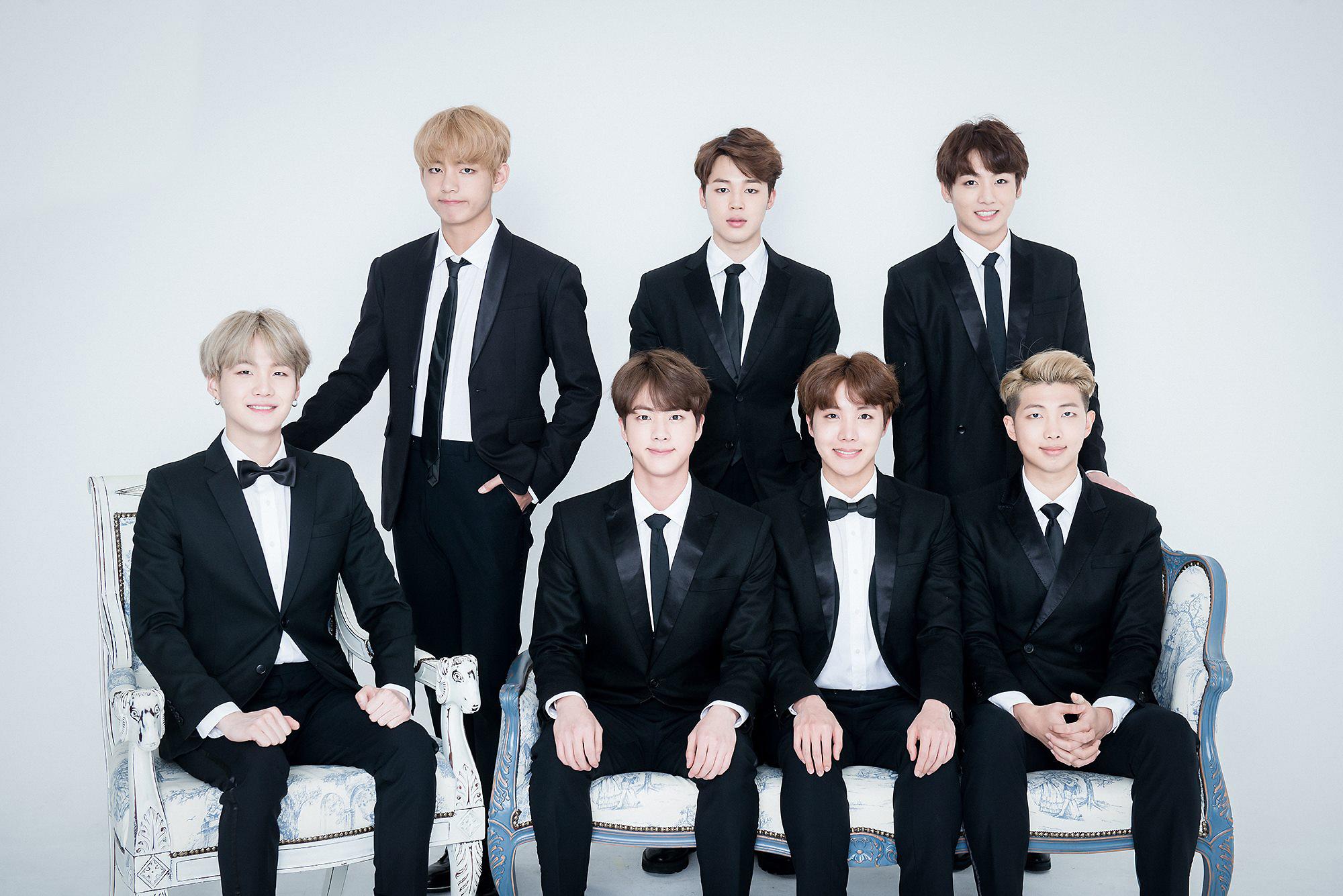 그룹 방탄소년단, 팬들에게 숲 선물 받아…역시 '대세돌'