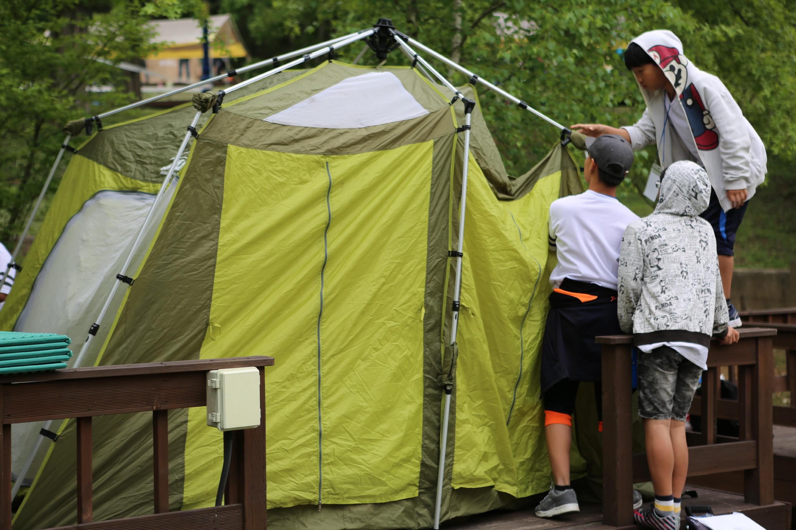 국립평창청소년수련원, 자연과 함께하는 '우리두리한마음 야영캠프' 실시