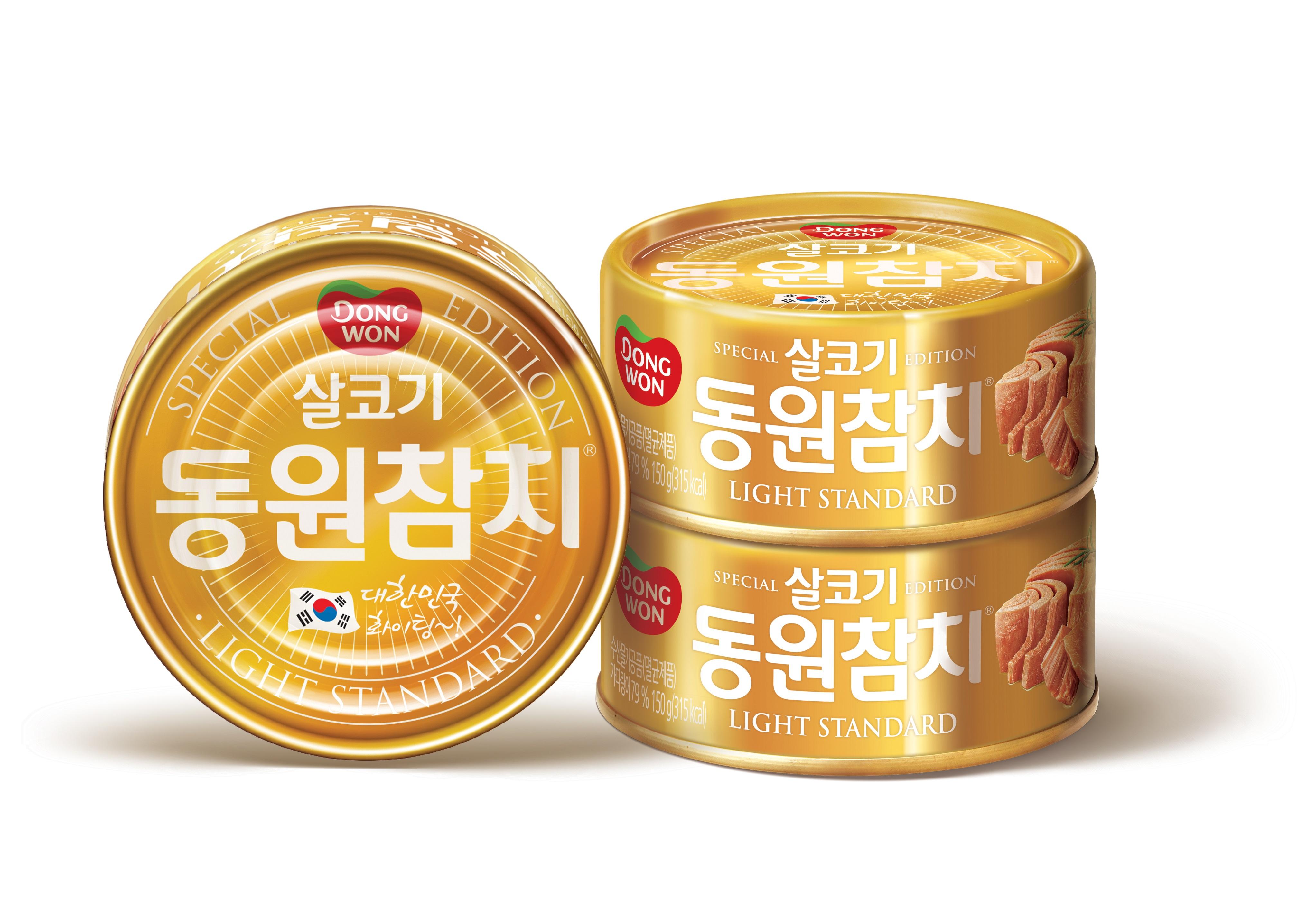 동원F&B, 특별 한정판 '동원 금메달참치' 출시