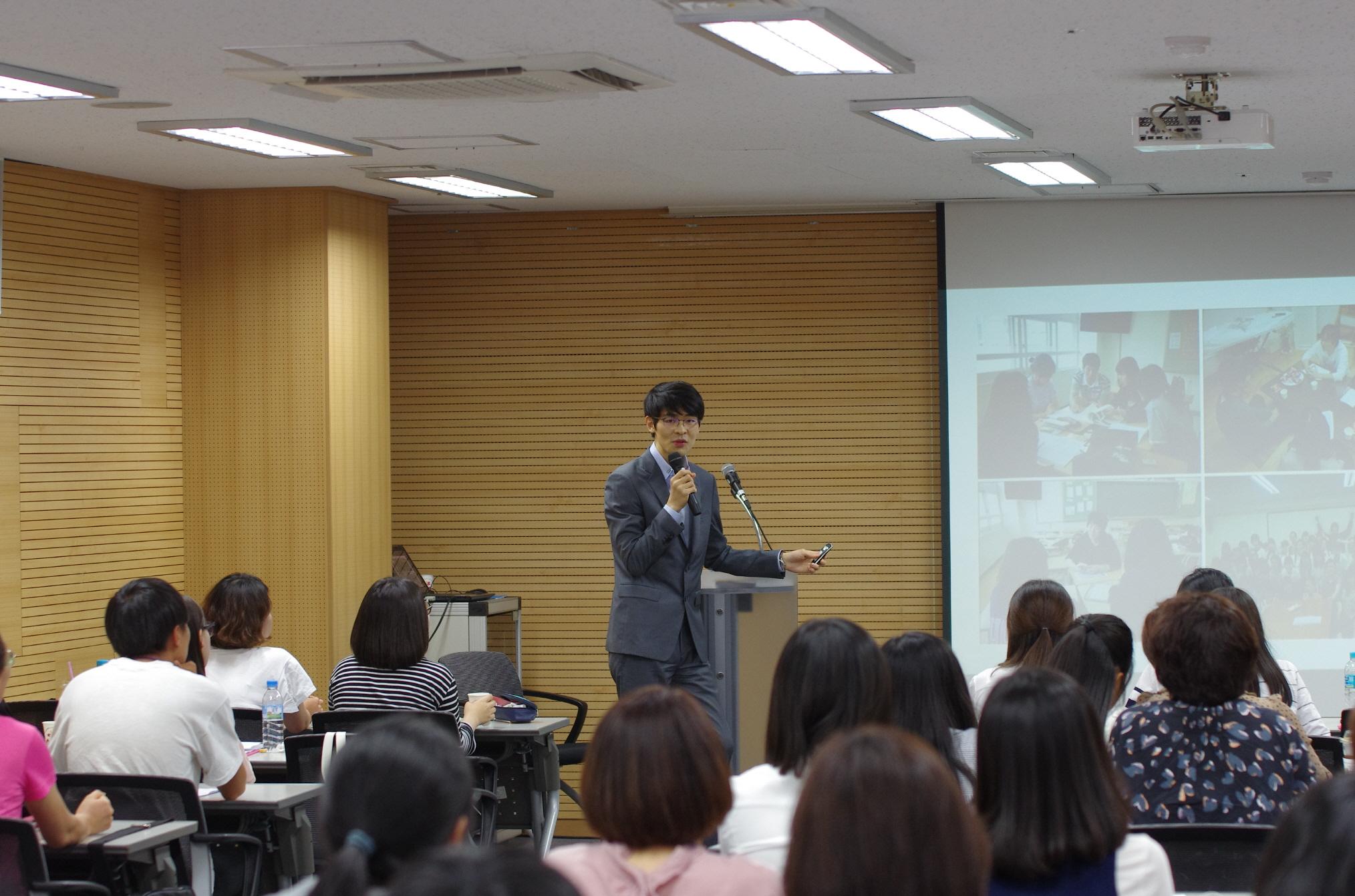 '공부의 신' 강성태, 한국청소년연맹 희망사과나무 장학생 대상 학습 코칭