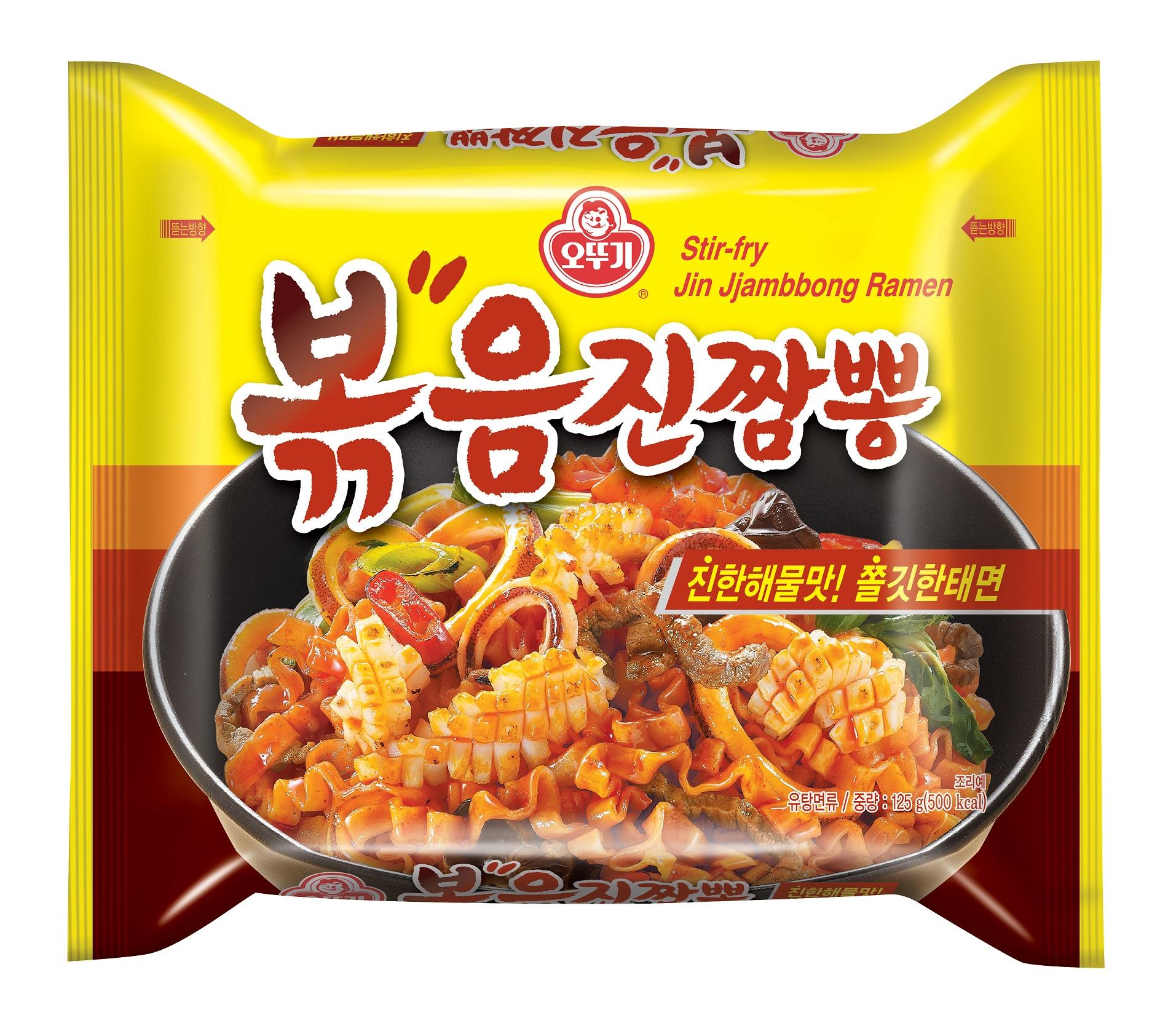 오뚜기, 진한 해물맛과 쫄깃한 태면으로 즐기는 '볶음진짬뽕' 출시